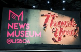 News Museum Promo screen