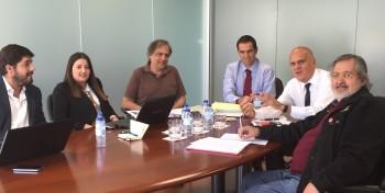 Numa conversa sobre conteúdos com Rodrigo Moita de Deus, Carolina Mascarenhas, Pedro Correia, João Paixão e Luís Pinheiro de Almeida