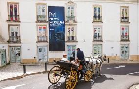 Edifício onde está a ser instalado o Museu