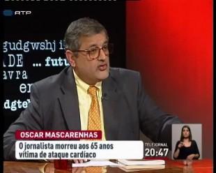 """Oscar Mascarenhas, um dos comissários de """"Os Imortais"""""""